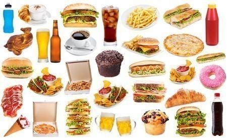 Ungesunde Lebensmittel